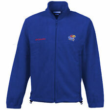 Columbia Kansas Jayhawks Youth Royal Blue Collegiate Flanker Fleece Jacket