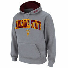 Stadium Athletic Arizona State Sun Devils Gray Arch & Logo Pullover Hoodie
