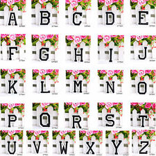 Letter A-Z Embroidered Iron On Patch Sew Clothing Motif DIY Applique Accessories