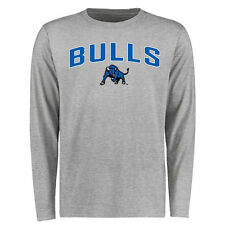 Buffalo Bulls Ash Proud Mascot Long Sleeve T-Shirt