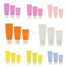 Empty Silicone Travel Packing Bottle Press Bottle for Lotion Shampoo Bath