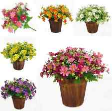 Artificial Silk Flower Daisy Bouquet Fake Flowers For Home Wedding Party Decor