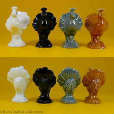 Wade Whimsies (2010) Fair Issue Peacock - Choice of White, Black, Grey or Brown