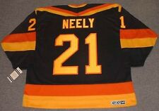 CAM NEELY Vancouver Canucks 1985 CCM Vintage Throwback Away NHL Hockey Jersey