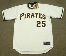 BRUCE KISON Pittsburgh Pirates 1971 Majestic Cooperstown Home Baseball Jersey