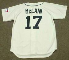 DENNY McLAIN Detroit Tigers Majestic Throwback Home Baseball Jersey