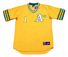 DICK GREEN Oakland Athletics 1972 Majestic Cooperstown Home Baseball Jersey