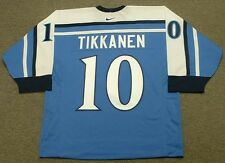 ESA TIKKANEN 1998 Team Finland Nike Olympic Throwback Hockey Jersey