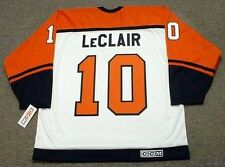 JOHN LeCLAIR Philadelphia Flyers 1997 CCM Throwback Home NHL Hockey Jersey