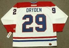 KEN DRYDEN Montreal Canadiens 1978 CCM Throwback Home NHL Hockey Jersey