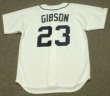 KIRK GIBSON Detroit Tigers Majestic Throwback Home Baseball Jersey