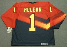 KIRK MCLEAN Vancouver Canucks 1995 CCM Vintage Throwback NHL Hockey Jersey