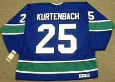 ORLAND KURTENBACH Vancouver Canucks 1972 CCM Vintage Throwback NHL Hockey Jersey