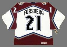 PETER FORSBERG Colorado Avalanche 2001 CCM Vintage Home NHL Hockey Jersey