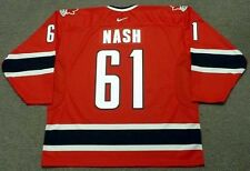 RICK NASH 2007 Team Canada Nike Vintage Throwback Hockey Jersey