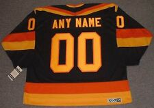 "VANCOUVER CANUCKS 1980's CCM Vintage Away ""Customized"" NHL Hockey Jersey"