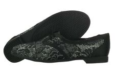 Rocket Dog Larissa Vanity-Satin Fabric Black Oxford Shoes Medium (B, M) Womens