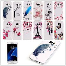 Ultra Slim HD Clear Soft TPU Rubber Gel Back Case Cover For iPhone Samsung Moto