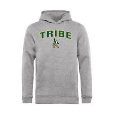 William & Mary Tribe Youth Ash Proud Mascot Pullover Hoodie