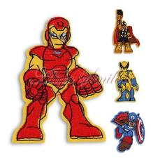 Embroidered Motif Applique Cartoon Hero Sewing Cloth Iron On Patch DIY Accessory