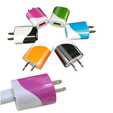 USB Port Wall Home Travel AC Charger Adapter For Samsung MP3 Smart phone US Plug