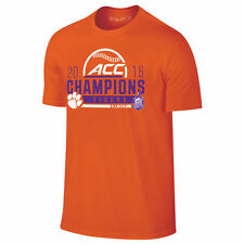 Clemson Tigers Orange 2016 ACC Baseball Conference Champions Locker Room T-Shirt