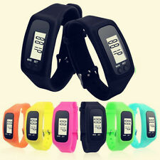 Digital LCD Pedometer Calorie Counter Run Step Walking Distance Watch CHI