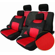 2 Color 10Pcs Universal Auto Car Seat Cover Headrest Front Rear Seat Cover F8J6