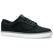 Osiris Caswell Vlc Mens Footwear Shoe - Black White All Sizes
