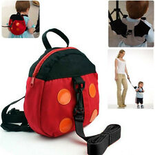 Baby Kids Toddler Walk Safety Harness Backpack Bat Bag Walking Wings Rein Strap