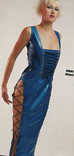 THE FEDERATION RUBBER LATEX LONG CORSET DRESS BRAND NEW CROSS DRESS