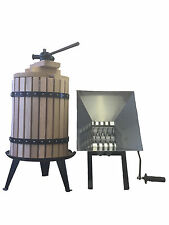 Top Quality 22L Fruit Press (FREE Pulp Bag)+ 7L Fruit Crusher