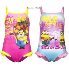 Girls 'Despicable Me'  MINIONS Swimming Costume/Bather  Ages  3. 4. 6. 8. yrs