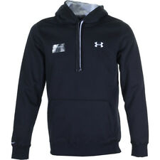 Under Armour Storm Rival Cotton Mens Hoody - Black White All Sizes