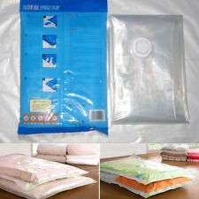 New 1Pcs Clear Home Space Saver Vacuum Storage Bags Seal Holder Organizer S-XL