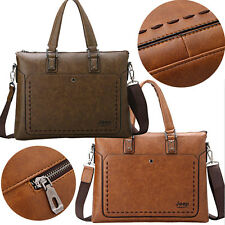 Men Messenger Laptop Bags Men'S Briefcase Tote Shoulder Travel Bag Brand Jeep