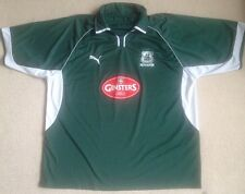 Plymouth Argyle Home Football Shirt Size XXL By Puma In VGC