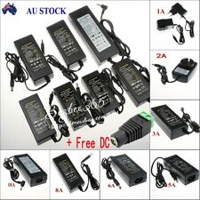 AU 12V 1A2A4A6A8A10A Power Supply Adapter Transformer For 3528 5050 LED Strips
