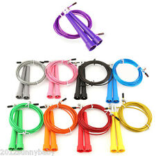 1Pcs Adjustable Speed Wire Skipping Jump Rope Fitness Exercise Cardio Sport