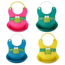 New Born Baby Boy Kids Children Feeding Towel Cloth Apron Babador Bibs Bib Easy