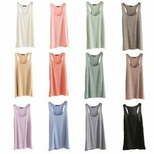 Women Sexy Summer Loose Sleeveless Casual Tank T-Shirt Blouse Tops Fashion Vest