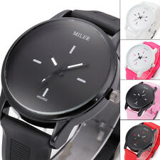 Fashion Dress Women Men Watches Jelly Lovers Quartz Watch Silicone Wristwatch