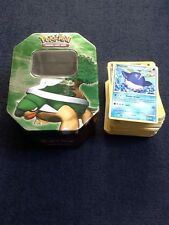 100 Pokemon Cards And Tin