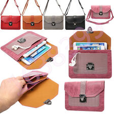 Pretty Handbag Universal Leather Cell Phone Pocket Purse Shoulder Bag Pouch Case