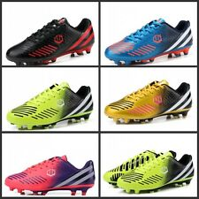 New Youth Kid's Men's AG TF Football Shoes Soccer Cleats Athletic Fashion Shoes