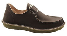 Timberland x POZU Moc Toe Ox Oxford Mens Boat Shoes Lace Up Dark Brown 47556 T1
