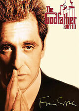 The Godfather Part III (DVD, 2008, The Coppola Restoration) WORLD SHIP AVAIL!