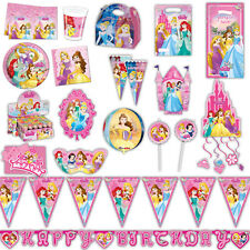 Disney Princess Storybook Children's Party Plates Cups Napkins Tableware Listing