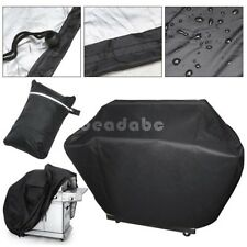 BBQ Waterproof Gas Grill Cover Black 5sizes Barbecue Heavy Duty Outdoor Weber