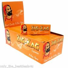 Zig Zag Liquorice Smoking Tobacco Rolling Papers-1,5,10,30,50(FULL BOX) BOOKLETS